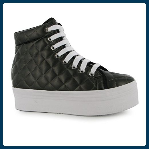 Jeffrey Campbell Homg Quilt Plattform Shoes Damen Gunmetal Trainer Sneakers, Gunmetal - Sneakers für frauen (*Partner-Link)