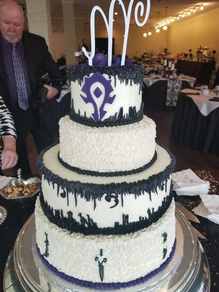 World Of Warcraft Wedding Cake Themed Wedding Cakes Nerd Wedding World Of Warcraft