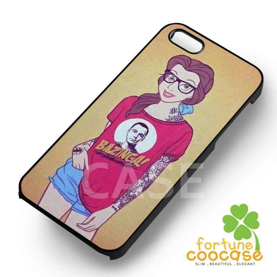 Disney Punk Tattoo Belle iphone case