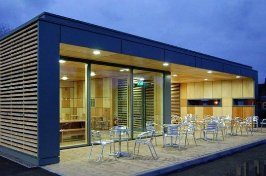 Pics For > Modern Cafe Building