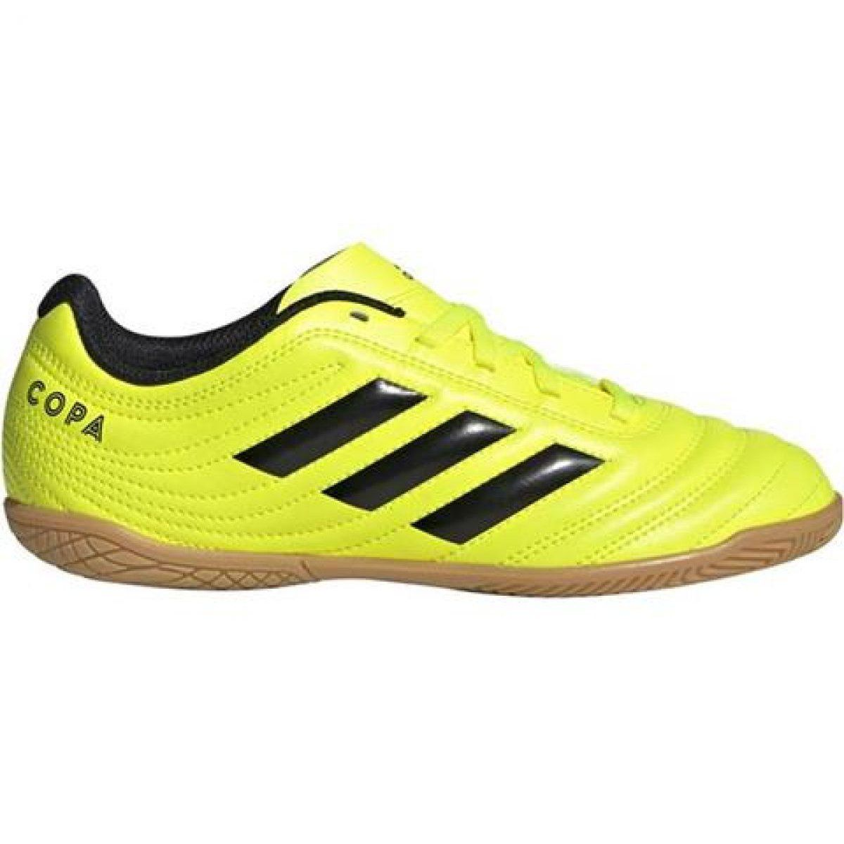 Buty Halowe Adidas Copa 19 4 In Jr F35451 Zolte Zolte Boys Football Boots Shoes Sneakers Adidas Adidas