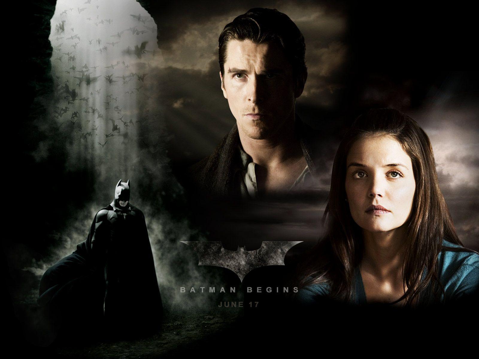 Batman Begins Wallpaper Movies Christopher Nolan