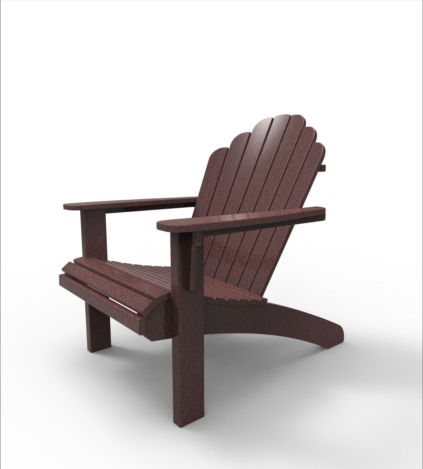 Malibu Outdoor Living Recycled Plastic Hampton Adirondack Chair