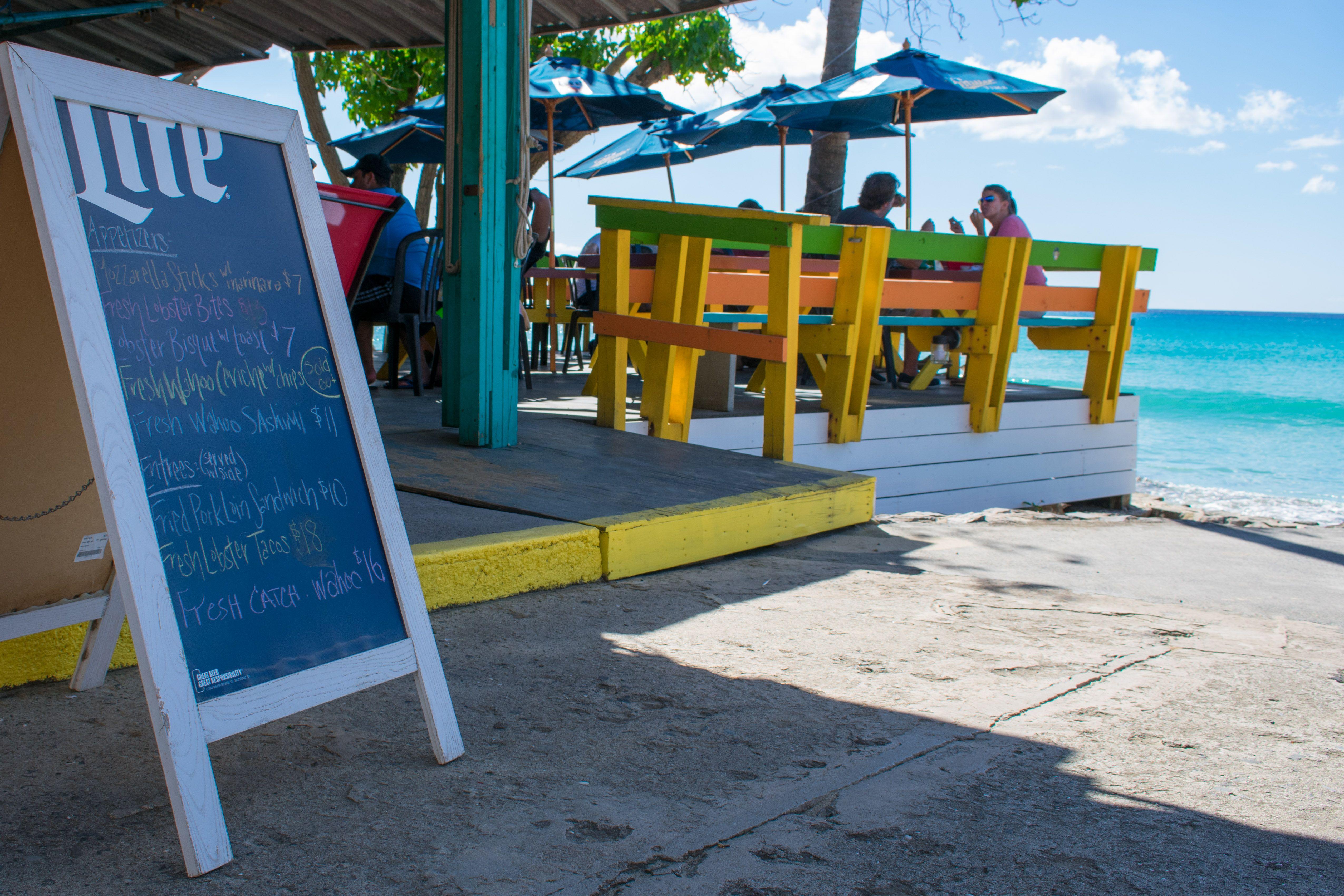 Nice New Menu Items At Rhythms Rainbow Beach St Croix Sbpr