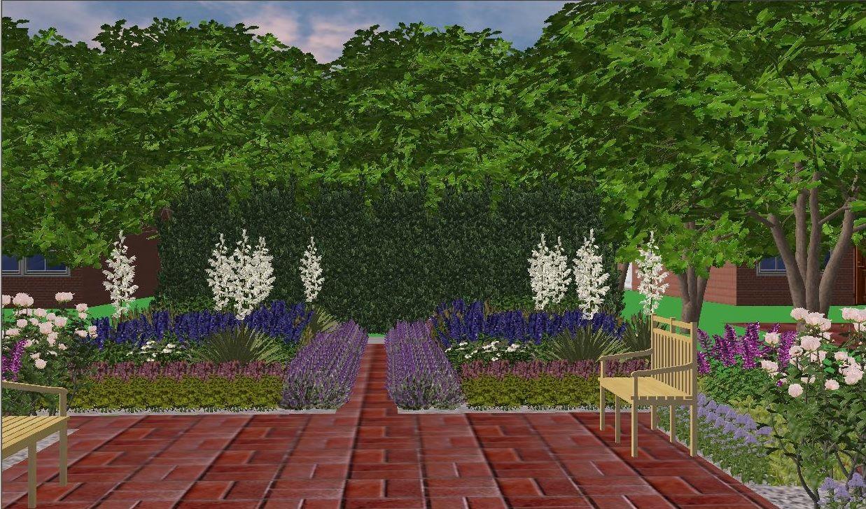 Projekt Ogrodu Plants Sidewalk Structures