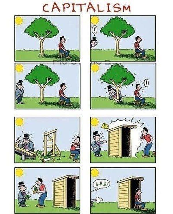 capitalism in 2019 | Satirical illustrations, Caricature ... |Funny Anti Communism