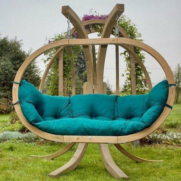 Solutions Inspiring Matching Cushions For Outdoor Use Design Ideas Wooden Garden Swing Garden Swing Seat Garden Bench Diy