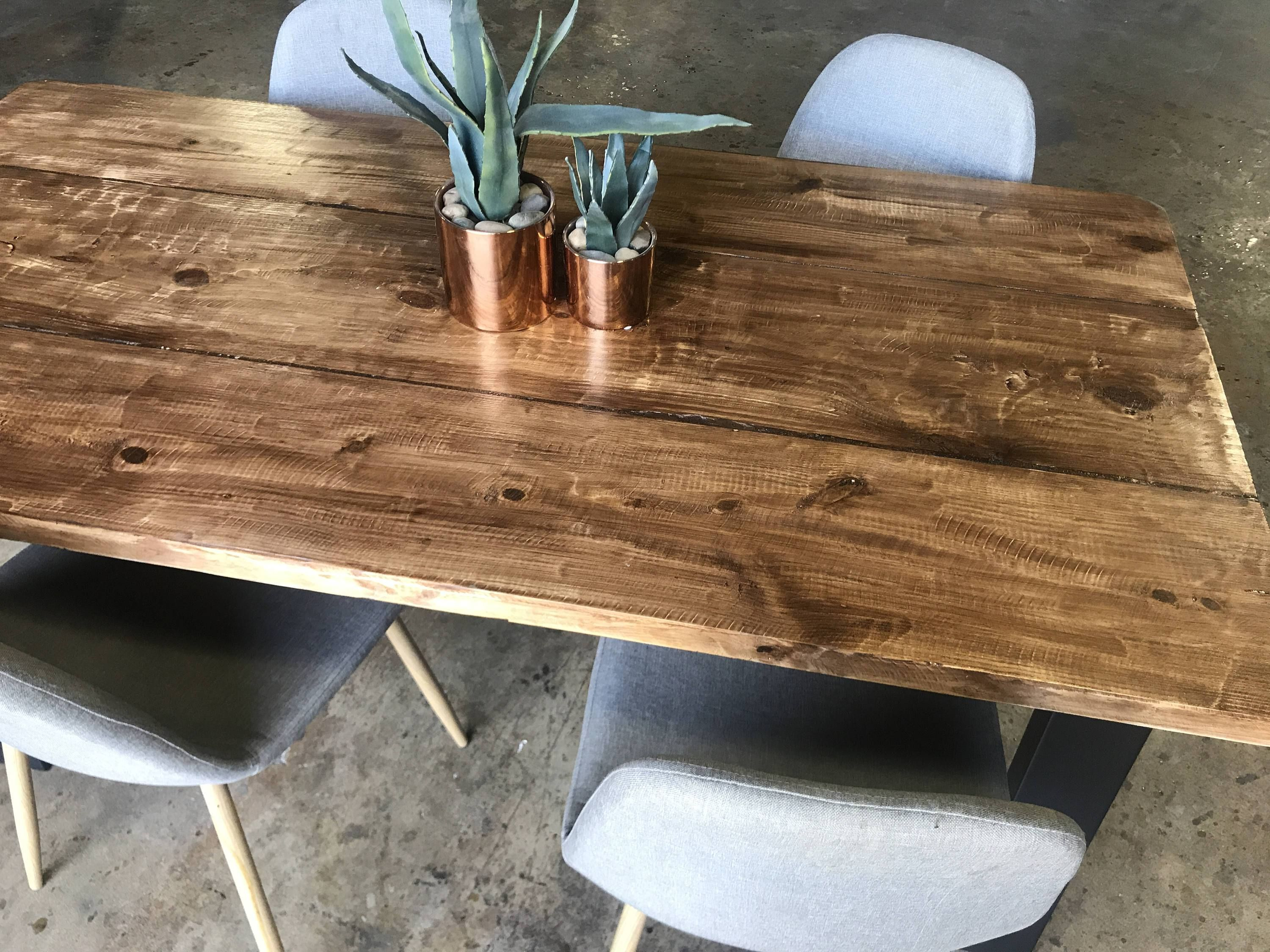 Wood Dining Table Rustic