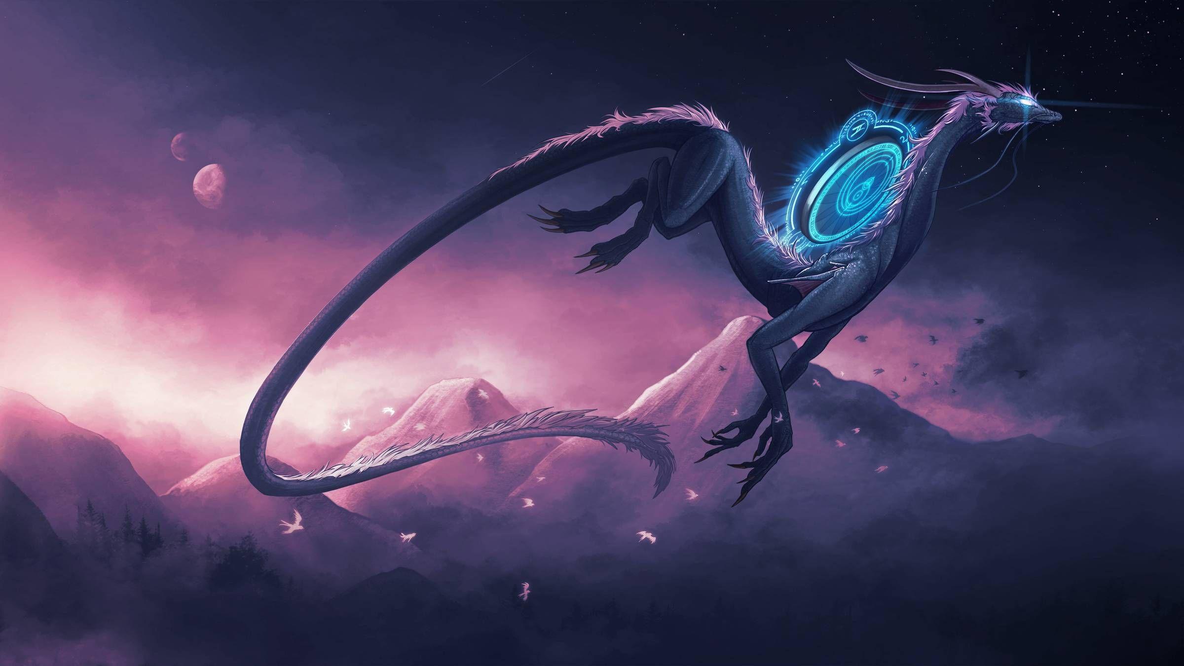 картинки фэнтези мистика драконы еще