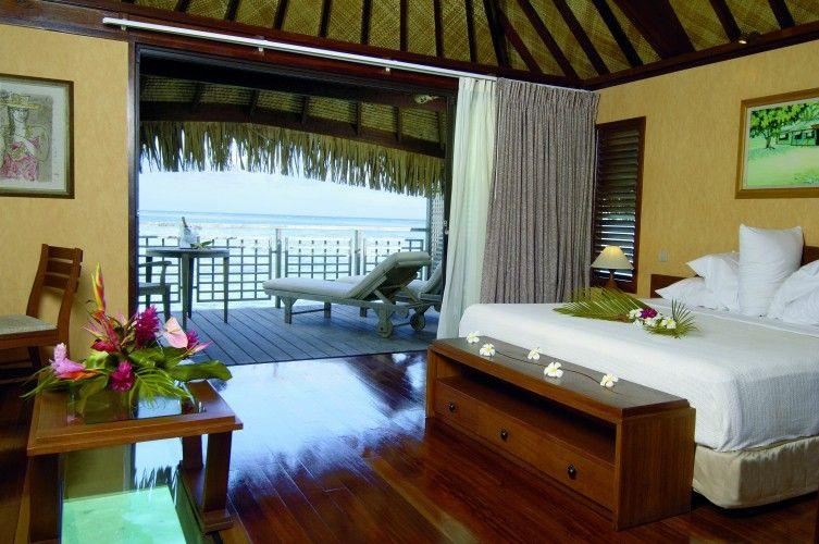 Hilton Moorea Lagoon Resort Spa Interior Of Overwater