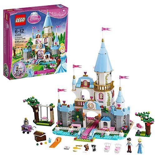 LEGO Cinderella 41055 Cinderella's Romantic Castle - LEGO - Cinderella - Construction Toys at Entertainment Earth