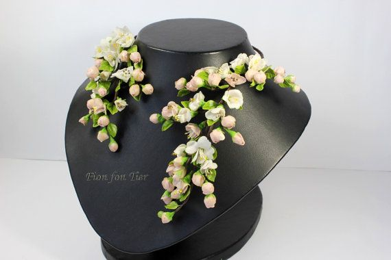 Apple's Blossom Necklace by Fionsstudio, $139.00