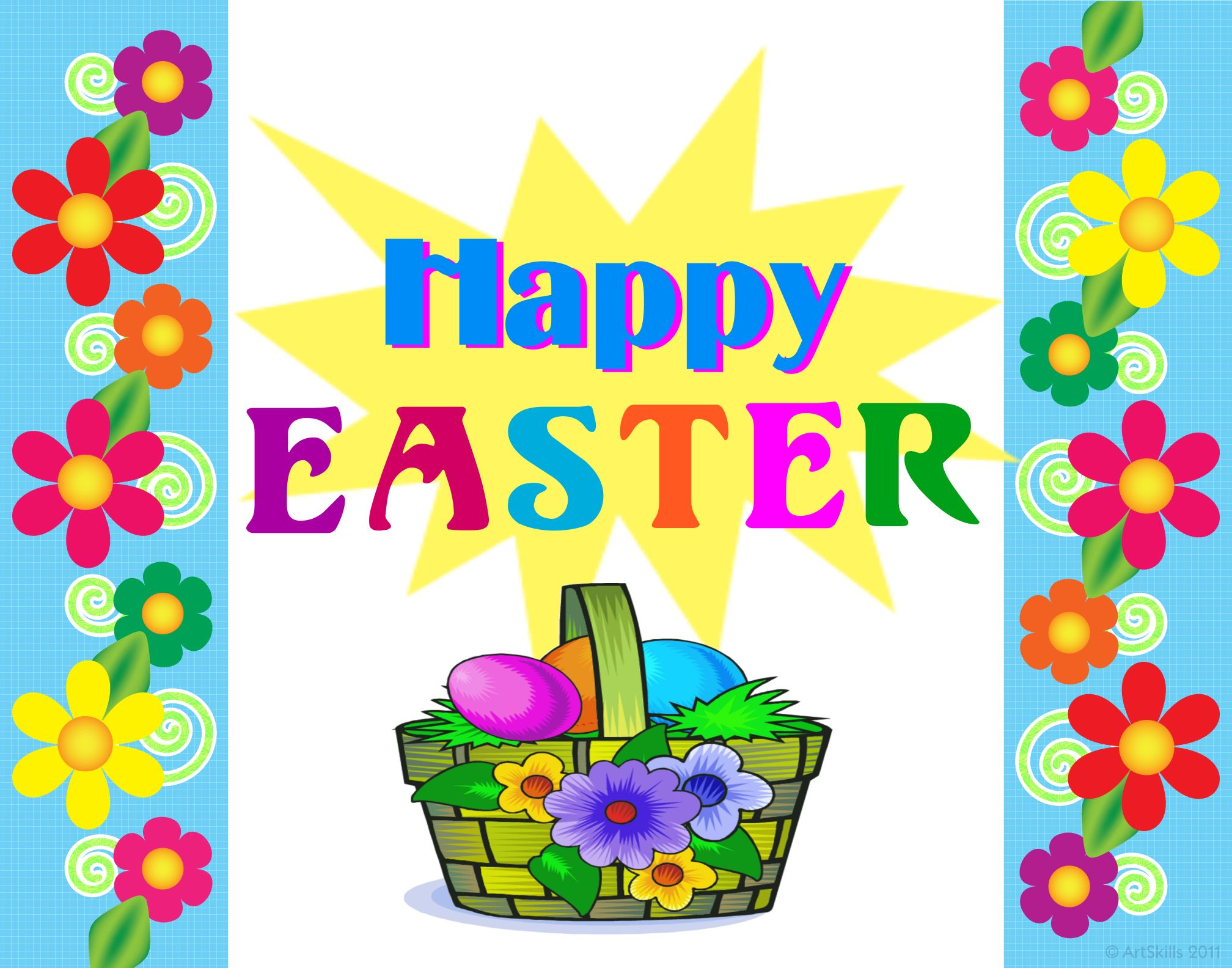 create a happy easter