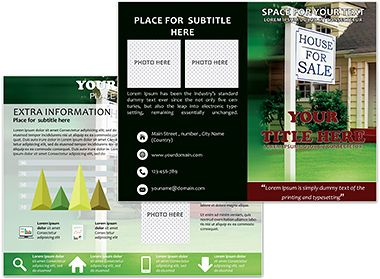 Sale House Brochure Templates Brochure Templates Pinterest - Information brochure template