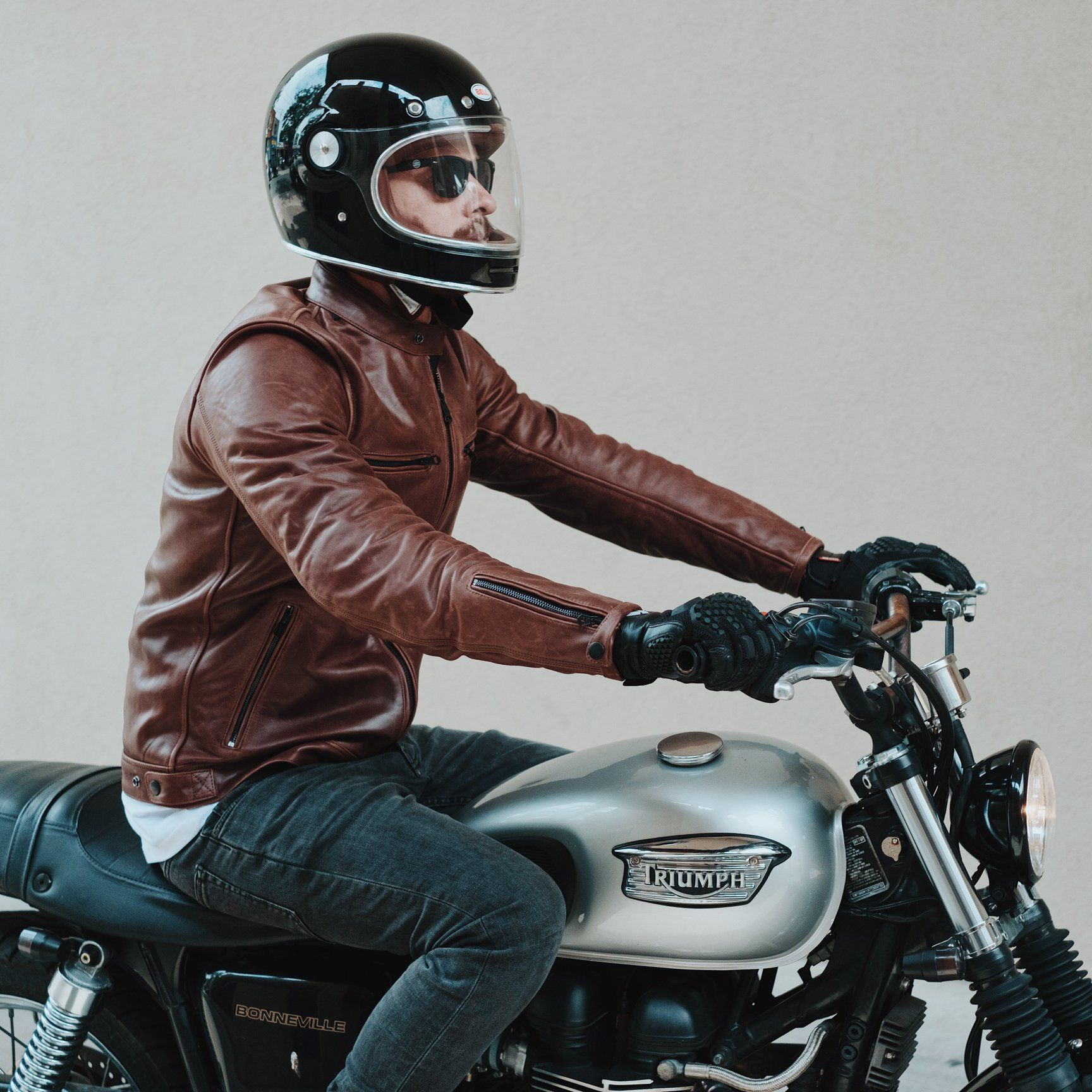 c9f18eece Roland Sands Ronin Leather Jacket - Black | Motorcycles and Riding ...