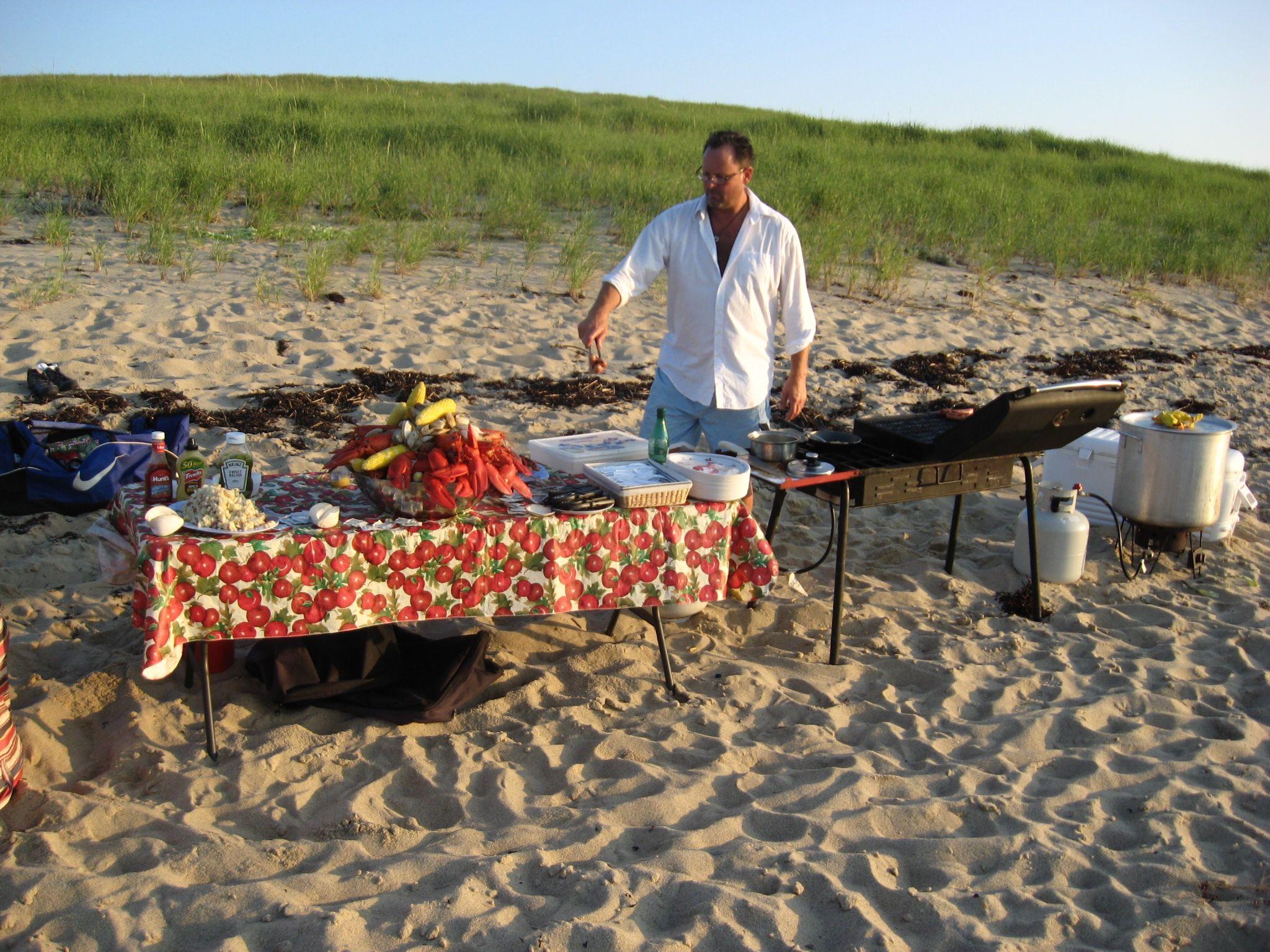 Cape Cod Clam Bake On The Beach