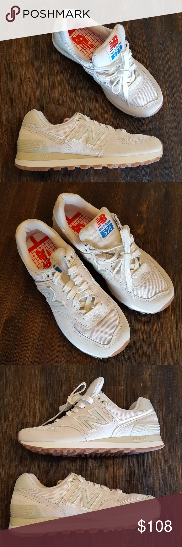 New Balance retro sport sneakers size 7.5 New Balance 574 Classic Endcap  sneakers Size 7.5 Terry cloth tong new balance Shoes Sneakers 237c71e49a7
