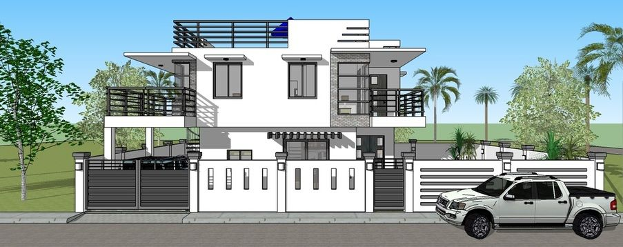 Pin by rebecca paquette on modern home designs pinterest modern house design plans for simple home signed and sealed and ready to use fro building permit new home construction and housing loan requirements malvernweather Choice Image