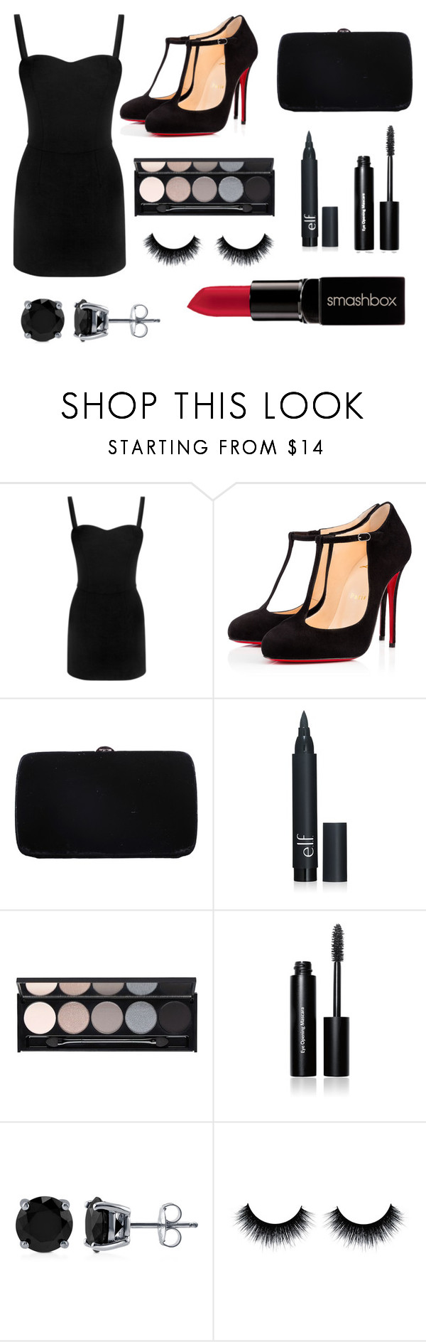"""Classic"" by chooseyourstyle321 on Polyvore featuring Alexander McQueen, Christian Louboutin, Sergio Rossi, Witchery, Bobbi Brown Cosmetics, BERRICLE, Smashbox, women's clothing, women's fashion and women"