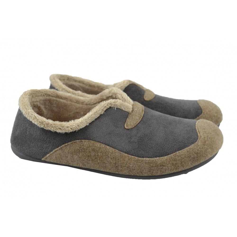 Zapatillas de andar por casa fabricadas con materiales de tejidos ...