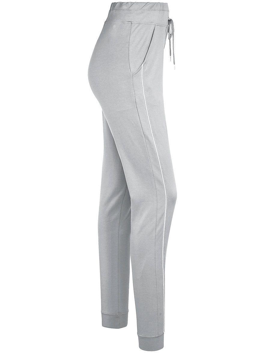 Peter Hahn - Le pantalon de loisirs - platine/blanc