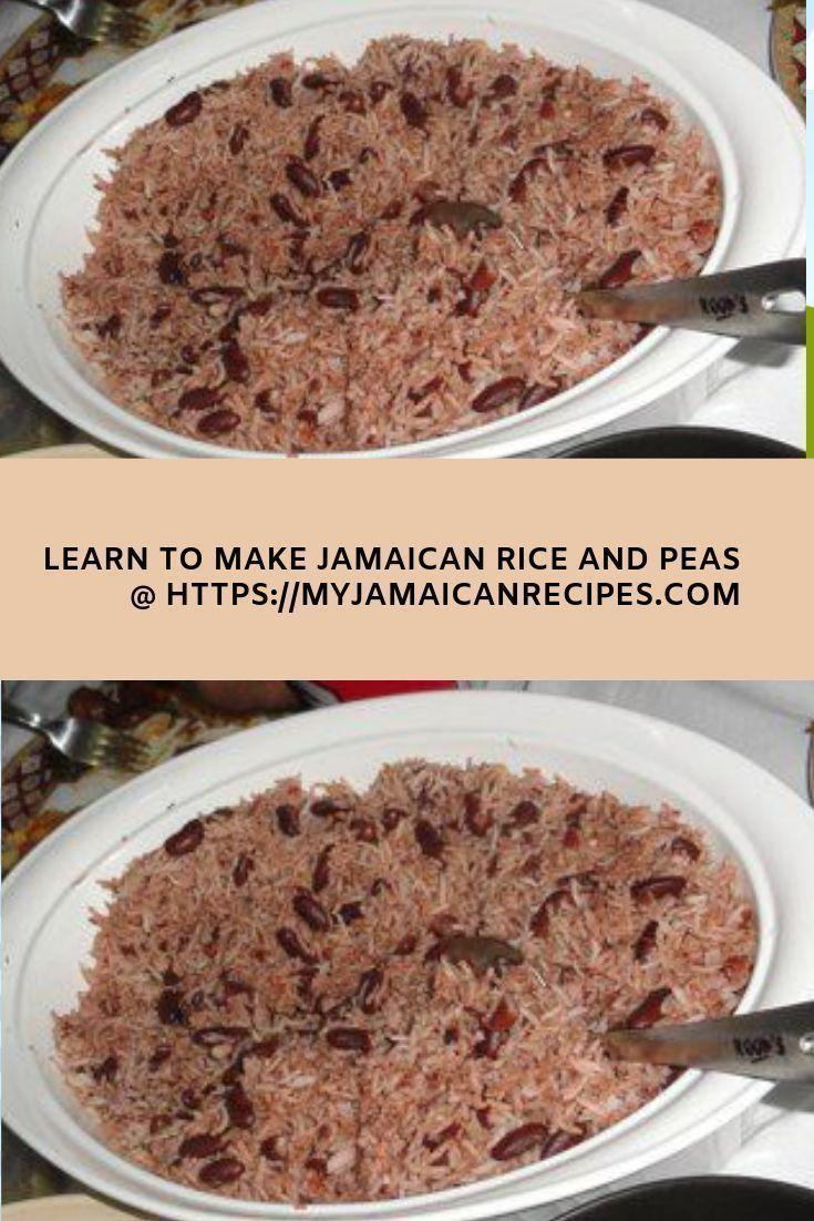 jamaican rice and peas  recipe  jamaican rice jamaican