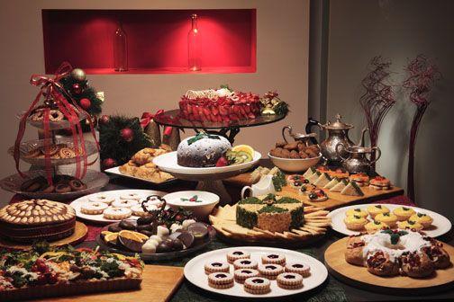 Marvelous A Yummy Christmas Dessert Buffet Christmas Xmas Home Interior And Landscaping Eliaenasavecom