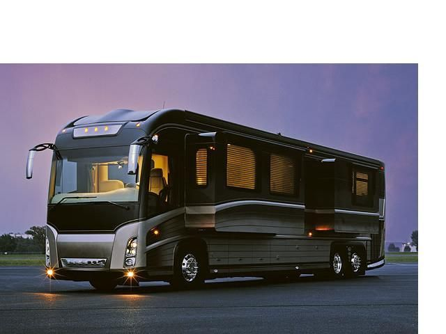 Luxury Caravan Bus