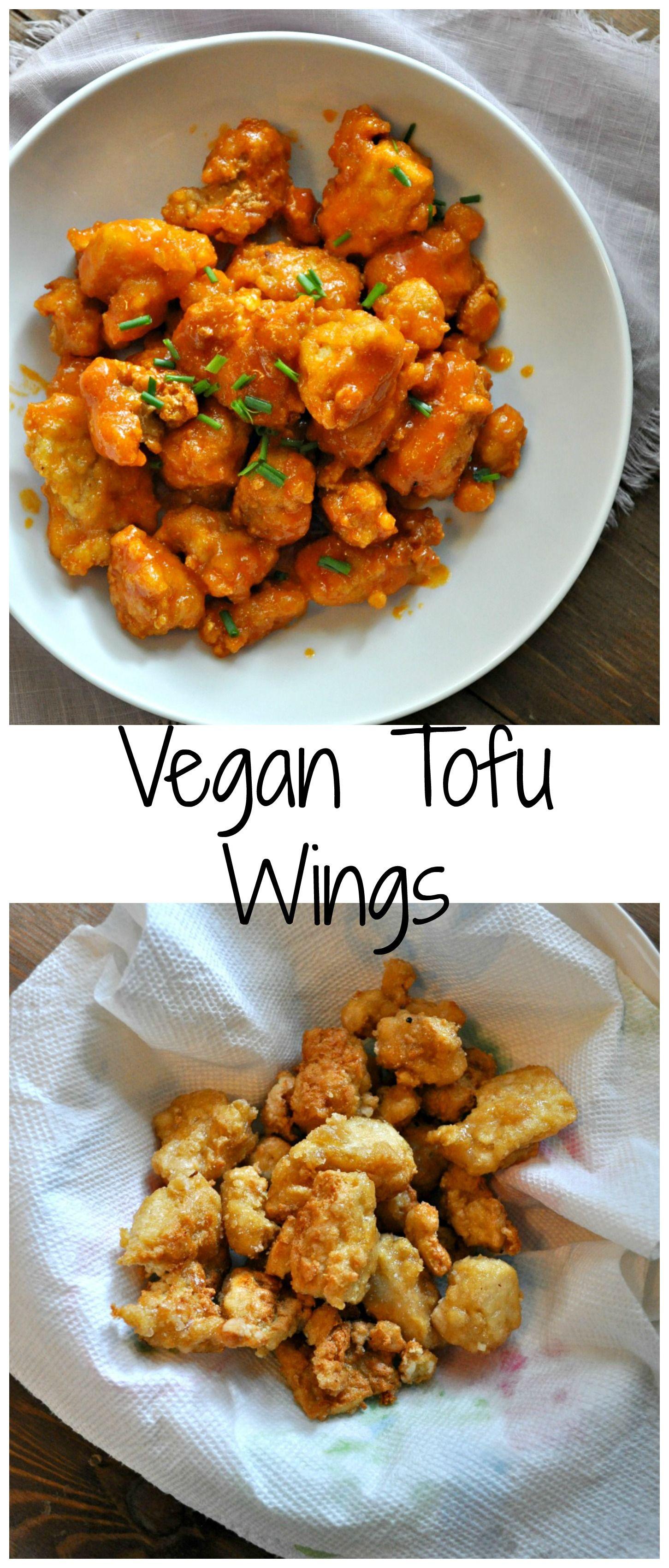 Vegan Tofu Wings Rabbit And Wolves Recipe Tofu Food Vegan