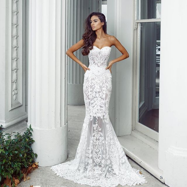 The Perfect Wedding Gown: Double-tap If You Love @nektariaworld's Senorita Gown That