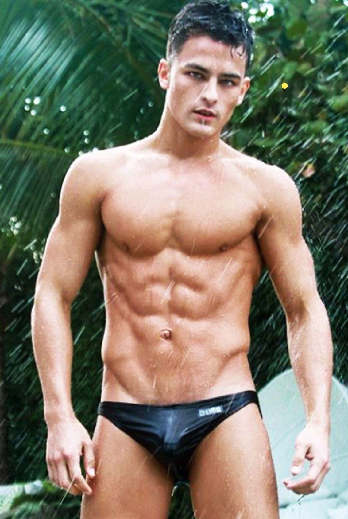 b20f05cb3f Ripped swim stud showing VPL in his wet Speedos. More hot men @Adamb18
