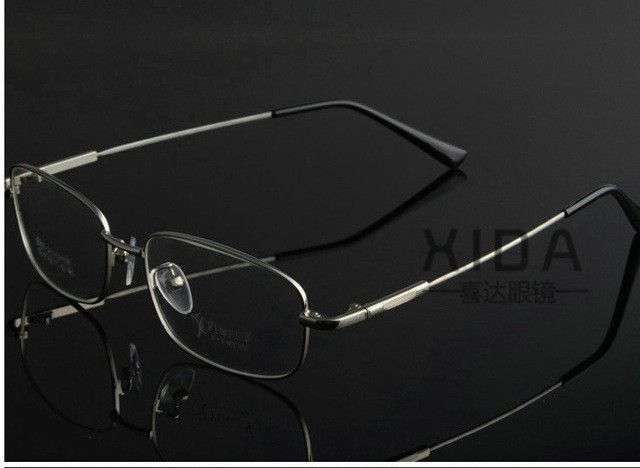 Fashion ultralight titanium memory metal frames myopia frame super ...