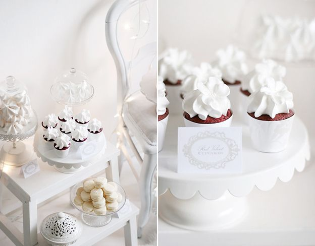 Red velvet cupcakes by Call me cupcake, via Flickr