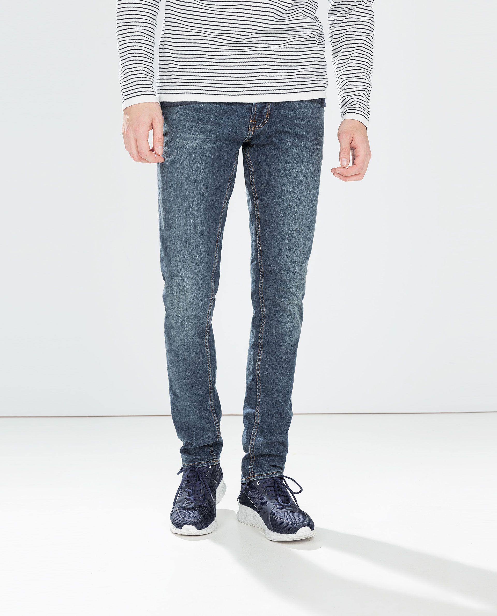 56aec64b SLIM JEANS - Slim Fit - Jeans - MAN | ZARA Egypt | Zara | Jeans ...