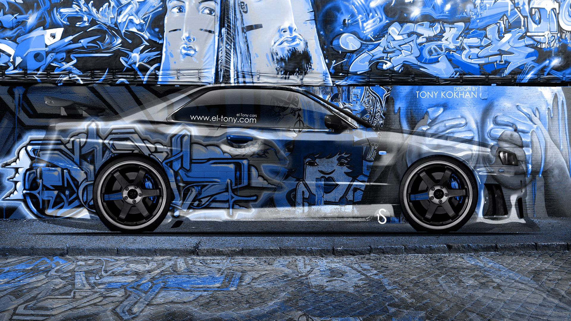 Nissan SkyLine GTR R Wallpaper WallpaperUP × Nissan Skyline