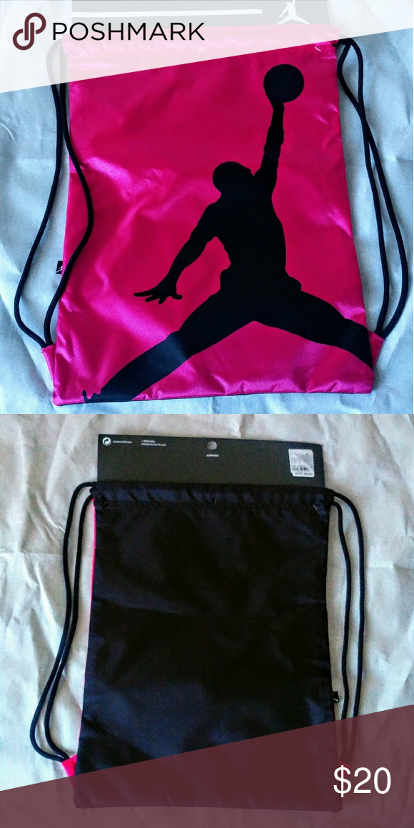 933172ce551a Nike Jordan Jumpman Drawstring Gym Bag New never worn. Work out in style.  17x12. Nike Bags Backpacks