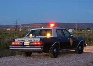 1986 Dodge Diplomat The Problem With These Cars Was That The Frame Front Suspension Really Couldn T Handle The 318 That Was Police Cars Old Police Cars Police