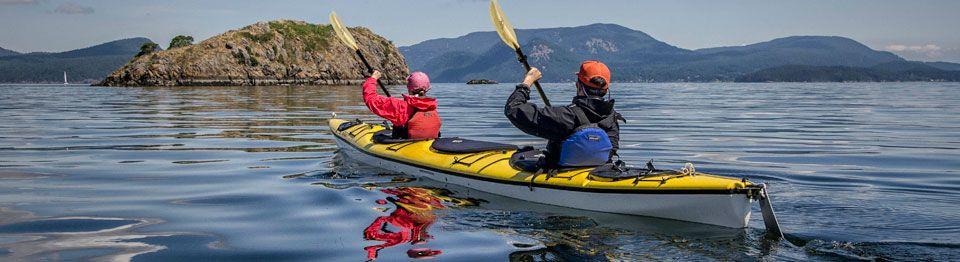 Sea kayaking san juan islands