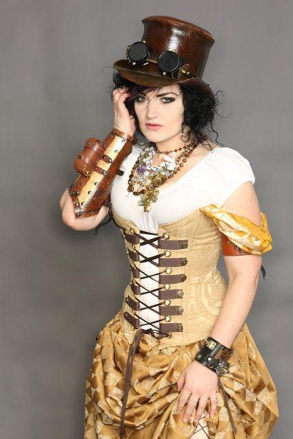 Steampunk Fashion Women Dresses womens steampunk fashi...