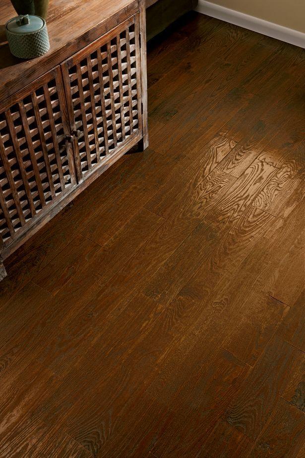 American Scrape Hardwood Flooring Red Oak Wild West