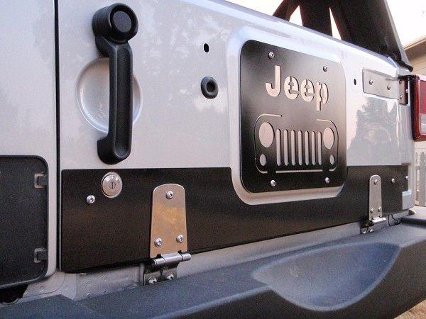 6jktdka Swag Jk Drop Down Tailgate Conversion Kit Vent Covers Jeep Tailgate