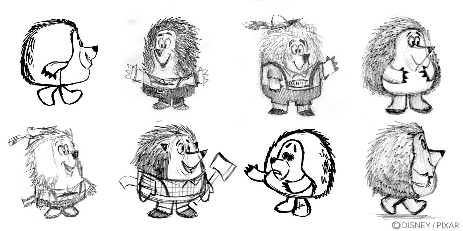 Pixar Character Design Tips : Art nectar pixar artist nate wragg toy story