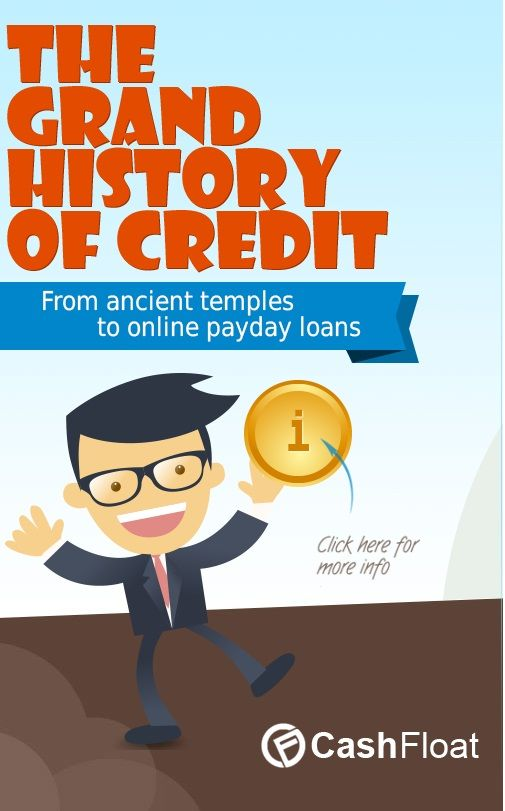 The Grand History Of Credit History Payday Loans Infographic