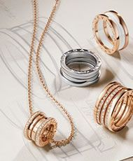 bvlgari bvlgari rose gold diamond rings an853336 discover italian jewelry and other luxury goods