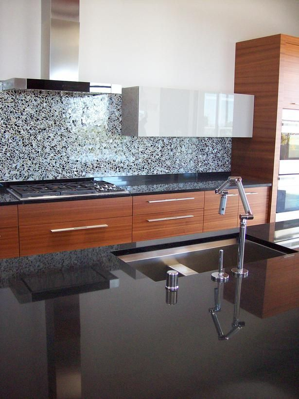 best kitchen countertop pictures color material ideas black granite countertops modern on kitchen decor black countertop id=21519
