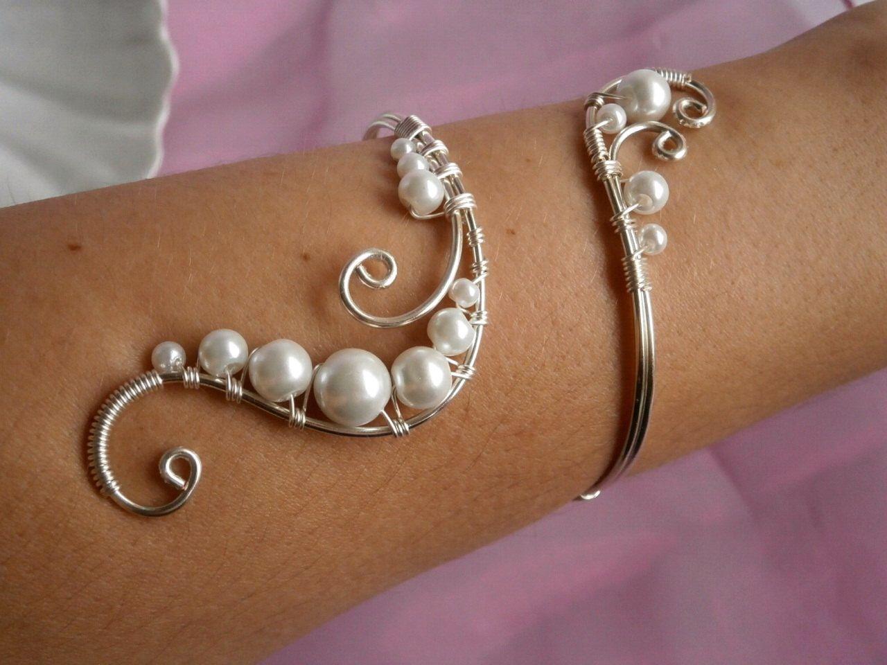 Tolle Draht Gewickelt Armband Muster Zeitgenössisch - Elektrische ...