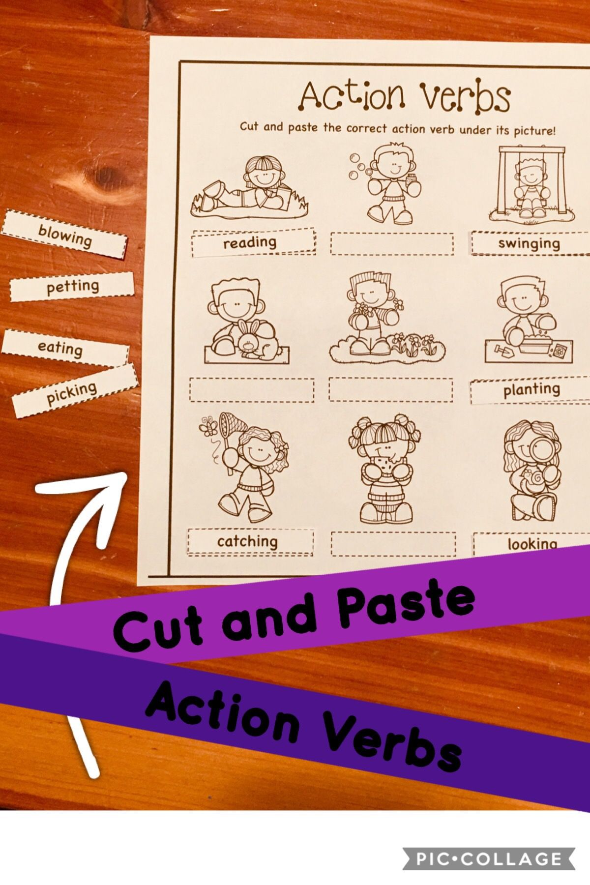 Great Resource For Learning Action Verbs Actionverbs
