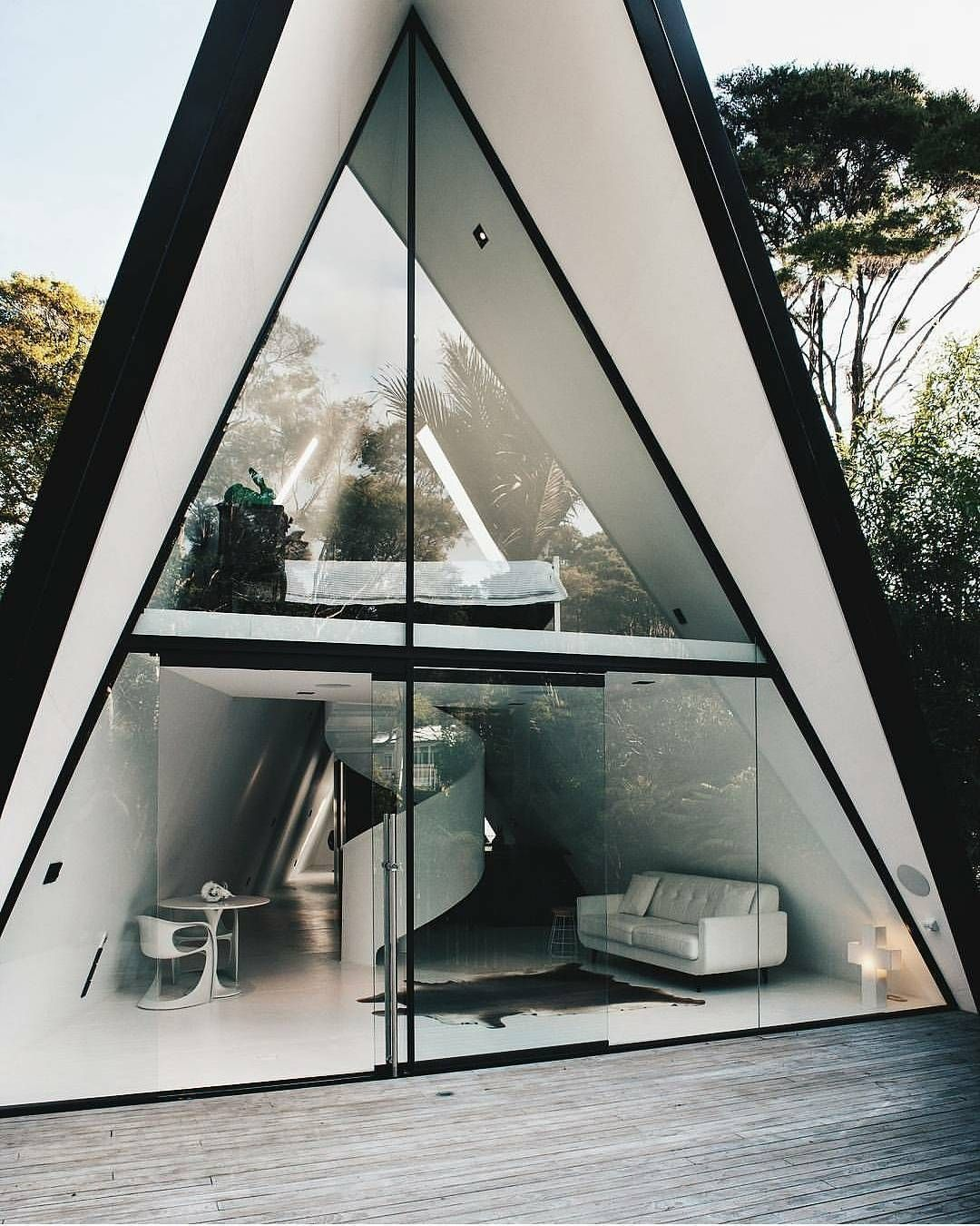 Tent house  totally distinct retreat in waiheke island new zealand also gallery of chris tate architecture tents rh pinterest