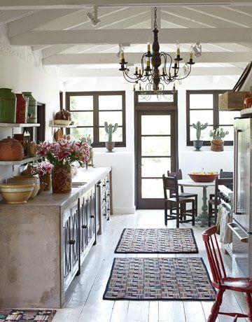 A Rustic, Spanish Style Home | Landhausstil und Spanisch