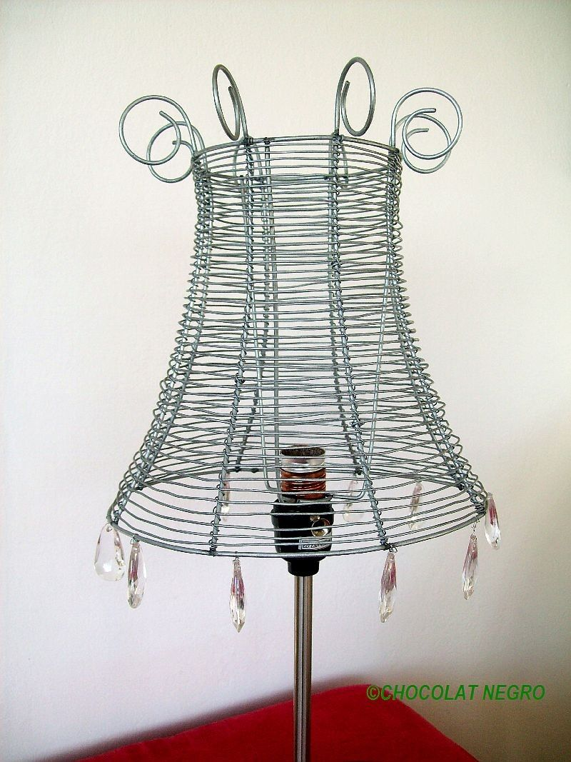 RECYCLED WIRE LAMPSHADE urban design. $59.00, via Etsy. | zica ...